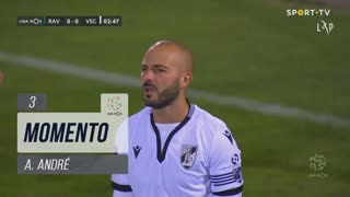 Vitória SC, Jogada, A. André aos 3'
