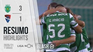 Liga NOS (1ªJ): Resumo Flash Sporting CP 3-1 Gil Vicente FC