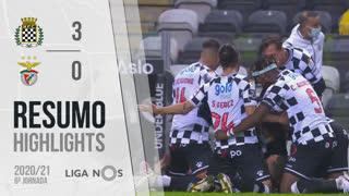 Liga NOS (6ªJ): Resumo Boavista FC 3-0 SL Benfica