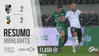 Liga NOS (14ªJ): Resumo Flash Vitória SC 2-2 SC Farense