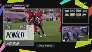 Boavista FC, Penálti, Paulinho aos 84'