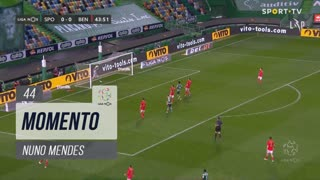 Sporting CP, Jogada, Nuno Mendes aos 44'