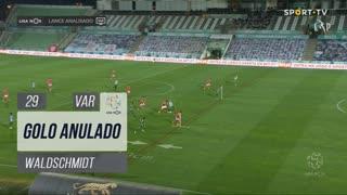 SL Benfica, Golo Anulado, Waldschmidt aos 29'