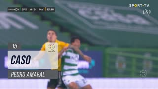Rio Ave FC, Caso, Pedro Amaral aos 15'