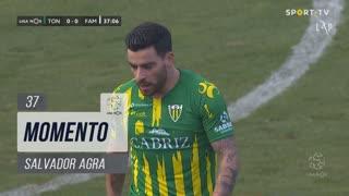 CD Tondela, Jogada, Salvador Agra aos 37'