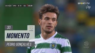 Sporting CP, Jogada, Pedro Gonçalves aos 33'