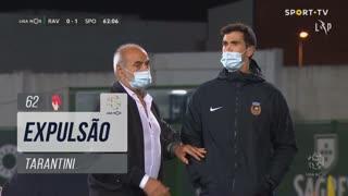 Rio Ave FC, Expulsão, Tarantini aos 62'