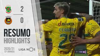 Liga NOS (12ªJ): Resumo FC P.Ferreira 2-0 Rio Ave FC