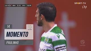 Sporting CP, Jogada, Paulinho aos 14'