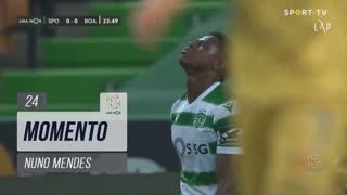 Sporting CP, Jogada, Nuno Mendes aos 24'