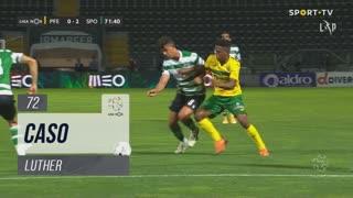 FC P.Ferreira, Caso, Luther aos 72'
