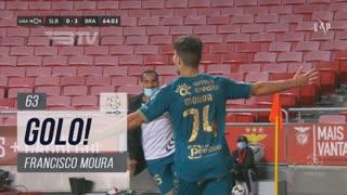 GOLO! SC Braga, Francisco Moura aos 63', SL Benfica 0-3 SC Braga