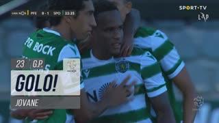 GOLO! Sporting CP, Jovane aos 23', FC P.Ferreira 0-1 Sporting CP