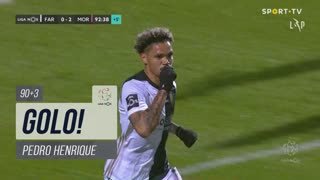 GOLO! SC Farense, Pedro Henrique aos 90'+3', SC Farense 1-2 Moreirense FC