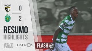 I Liga (3ªJ): Resumo Flash Portimonense 0-2 Sporting CP