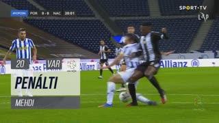 FC Porto, Penálti, Mehdi aos 20'