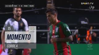 Marítimo M., Jogada, Correa aos 15'