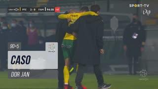 FC P.Ferreira, Caso, Dor Jan aos 90'+5'