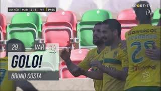 GOLO! FC P.Ferreira, Bruno Costa aos 29', Marítimo M. 0-1 FC P.Ferreira