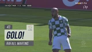 GOLO! Moreirense FC, Rafael Martins aos 43', Moreirense FC 2-3 CD Tondela