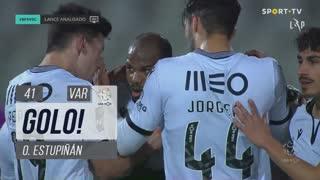 GOLO! Vitória SC, O. Estupiñán aos 41', Belenenses SAD 1-1 Vitória SC