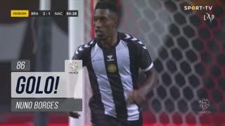 GOLO! CD Nacional, Nuno Borges aos 86', SC Braga 2-1 CD Nacional