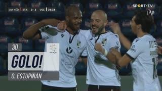 GOLO! Vitória SC, O. Estupiñán aos 30', Santa Clara 0-3 Vitória SC