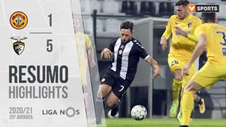 Liga NOS (25ªJ): Resumo CD Nacional 1-5 Portimonense