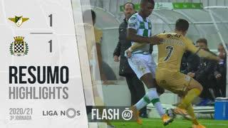 I Liga (3ªJ): Resumo Flash Moreirense FC 1-1 Boavista FC