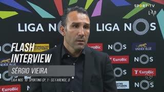 """Sérgio Vieira: """"Iremos sempre todos juntos"""""""