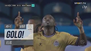 GOLO! Boavista FC, Elis aos 45'+1', FC Porto 0-2 Boavista FC