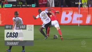 SL Benfica, Caso, Taarabt aos 90'+5'