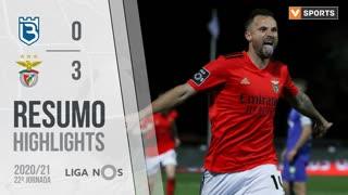 Liga NOS (22ªJ): Resumo Belenenses SAD 0-3 SL Benfica