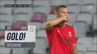 GOLO! SL Benfica, Seferovic aos 59', SL Benfica 1-0 Rio Ave FC