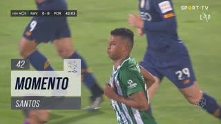 Rio Ave FC, Jogada, Santos aos 42'