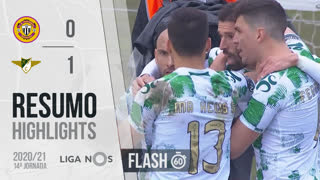 I Liga (14ªJ): Resumo Flash CD Nacional 0-1 Moreirense FC