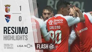 I Liga (15ªJ): Resumo Flash SC Braga 1-0 Gil Vicente FC