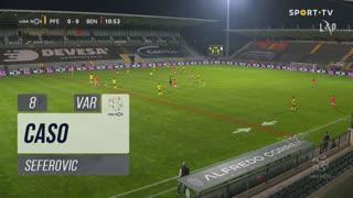 SL Benfica, Caso, Seferovic aos 8'