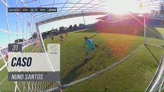 Sporting CP, Caso, Nuno Santos aos 31'
