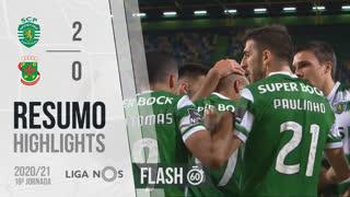 Liga NOS (19ªJ): Resumo Flash Sporting CP 2-0 FC P.Ferreira