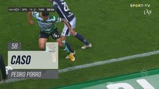 Sporting CP, Caso, Pedro Porro aos 58'