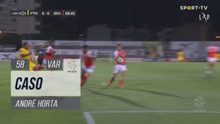 SC Braga, Caso, André Horta aos 58'