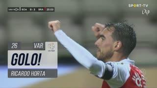 GOLO! SC Braga, Ricardo Horta aos 26', Boavista FC 0-3 SC Braga