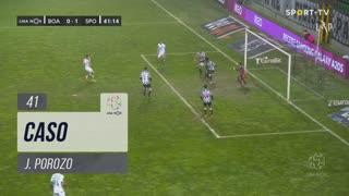 Boavista FC, Caso, J. Porozo aos 41'