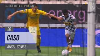 Boavista FC, Caso, Angel Gomes aos 36'