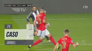 SL Benfica, Caso, Jardel aos 74'