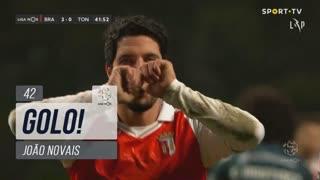 GOLO! SC Braga, João Novais aos 42', SC Braga 3-0 CD Tondela