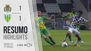 Liga NOS (31ªJ): Resumo Boavista FC 1-1 CD Tondela