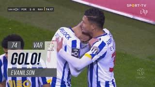 GOLO! FC Porto, Evanilson aos 74', FC Porto 2-0 Rio Ave FC