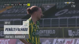 CD Tondela, Jogada, Rafael Barbosa aos 90'+4'